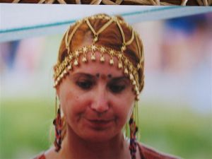 A younger me in my mid to late thirties when I used to do markets and festivals with my mother, being a hippy is something I haven't given up!