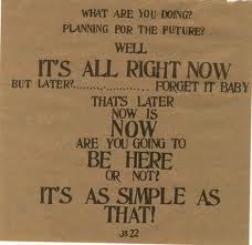 """From """"Be Here Now"""" by Ram Dass."""