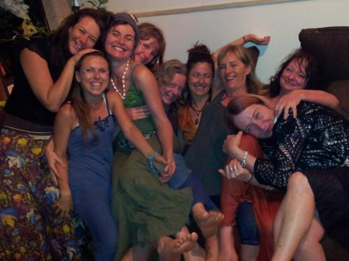 A Goddess Group Hug: at a gathering inspired by the InSpired IzaBella Siódmak.