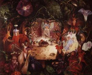 The Fairies' Banquet by John Anster