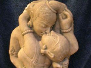 Shiva and Shakti.