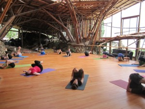 http://www.vitalisnutrition.com/2011/07/30/lasqueti-retreat-unique-special-secluded/ They even have a yoga retreat centre on the island!