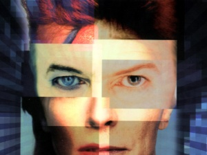 David Bowie: he played out his 'stuff' for all to see, some great music came out of that process!