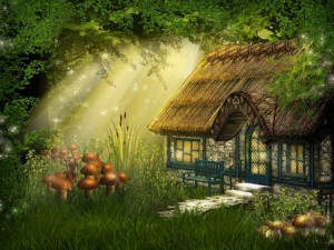 Not my fairy cottage exactly but you get the idea!