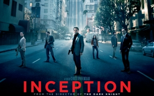 Inception: A film by Christopher Nolan, with Leonardo di Caprio.