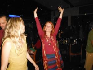 Me dancing with orbs! Photo by Antara May.