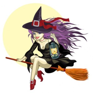 cartoon-witch