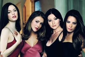 "Here are the four sisters from ""Charmed"", one left and lo and behold another sister!"