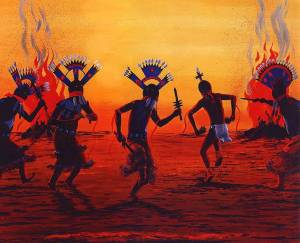 http://www.firstpeople.us/native-art/Ray-Naha-Apache-Mtn-Spirit-Dancers.html