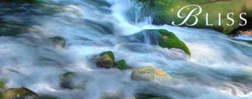 bliss flowing water