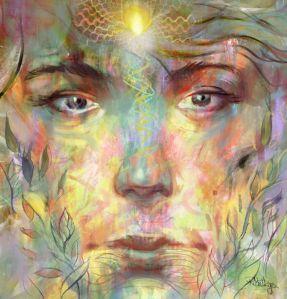 spiritual face