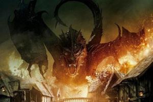 Hobbit-3-dragon flame