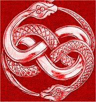 red snake celtic