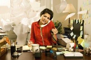 work overwhelmed