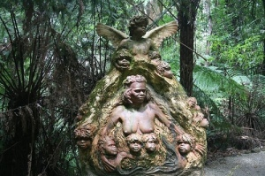 Australian Forest Sculptures by William Ricketts. http://world-market-portraits.blogspot.com.au/2008/09/australian-forest-sculptures-by-william.html Photo Credit to jsarcadia