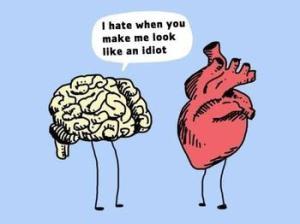 Heart head funny