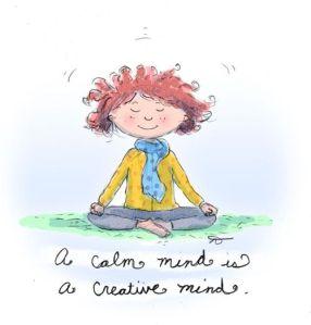 calm mind creative mind