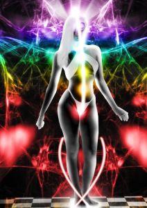 womans body energy