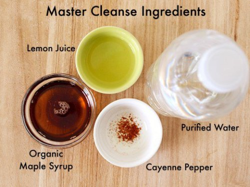 Master cleanse 1