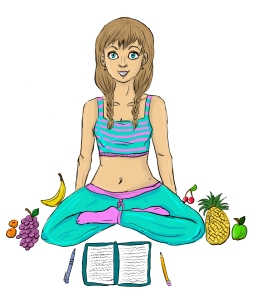 Healthy bodies yoga food